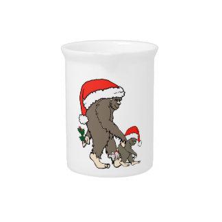 Pichet Famille de Bigfoot de Noël