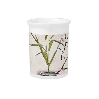 Pichet ikebana 7 par les fernandes élégants