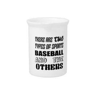 Pichet Il y a deux types de BASE-BALL et de d'autres de
