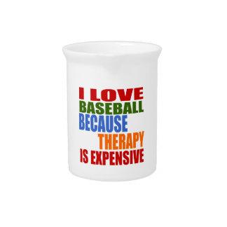 Pichet J'aime le base-ball puisque la thérapie est chère