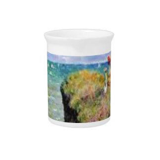 Pichet La falaise de Pourville de Claude Monet