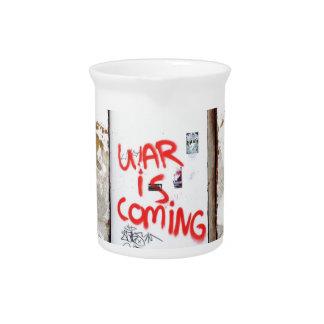 Pichet La guerre vient