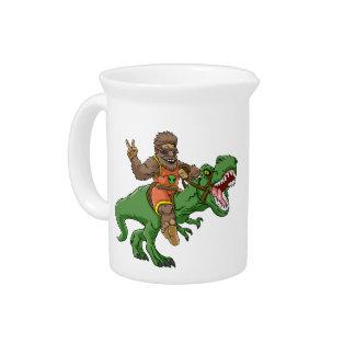 Pichet rex Bigfoot de rex-T de la Bigfoot-bande dessinée