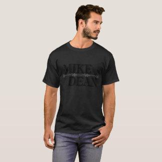Pièce en t à fond gris de la fan des hommes t-shirt