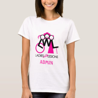 Pièce en t d'Admin T-shirt