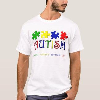Pièce en t d'autisme t-shirt