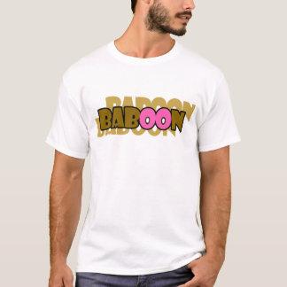 Pièce en t de babouin t-shirt