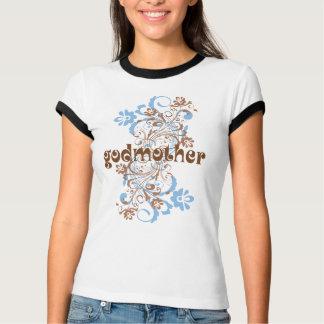Pièce en t de cadeau de remous fleurie par t-shirt