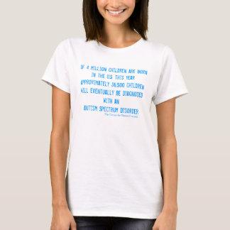 Pièce en t de dames d'autisme - $28,95 t-shirt