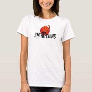 Pièce en t de dames de JIM Hitchins T-shirt
