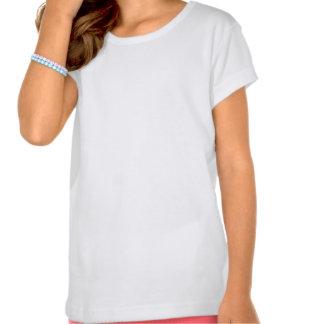Pièce en t de fille de batteur t-shirt