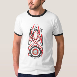 Pièce en t de hot rod t-shirt