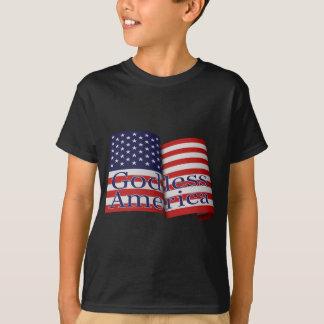"""Pièce en t """"de l'Amérique athée"""" du Foncé-style de T-shirt"""