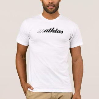 Pièce en t de Mathias, calorie blanche ! T-shirt