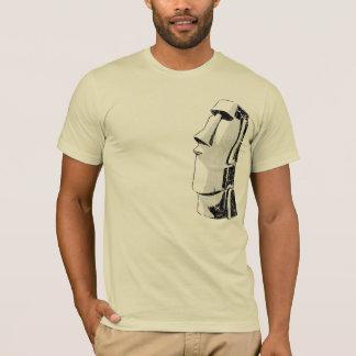 Pièce en t de Moai Tiki T-shirt