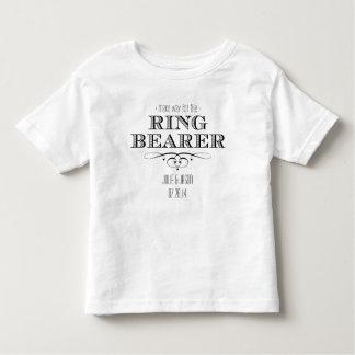 Pièce en t de porteur d'alliances t-shirt pour les tous petits