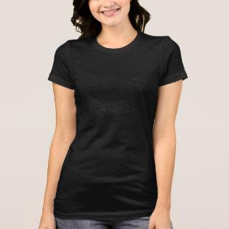 Pièce en t de V-Cou de Raven de nuit des femmes T-shirt