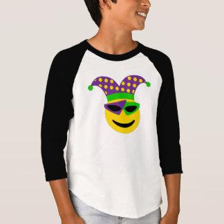 Pièce en t d'Emoji de mardi gras T-shirt