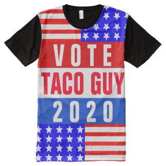 Pièce en t patriotique faite sur commande t-shirt tout imprimé