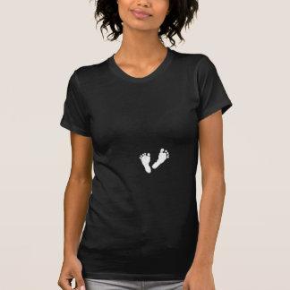 Pieds de bébé de maternité par Leslie Harlow T-shirt