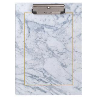 Pierre de marbre grise et blanche moderne porte-bloc