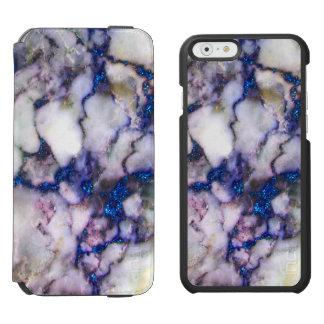 Pierre de marbre rose grise blanche de coque-portefeuille iPhone 6 incipio watson™