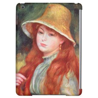 Pierre une jeune fille de Renoir | dans un chapeau
