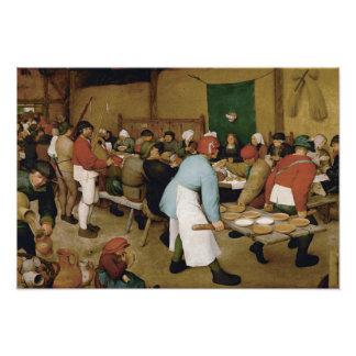 Pieter Bruegel l'aîné - mariage rural Photographe