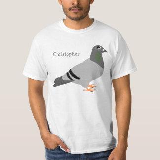 Pigeon personnalisé t-shirt