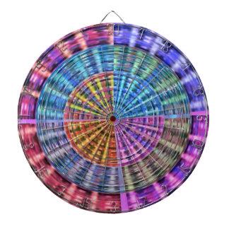 PIJLTJE Chakra 105 de Schoonheid van de Regenboog Dartbord