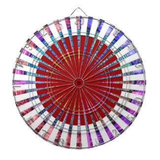 PIJLTJE Chakra 109 de Schoonheid van de Regenboog Dartbord