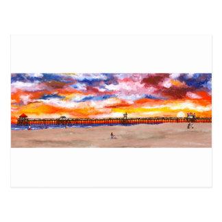 Pilier 2 de Huntington Beach Carte Postale