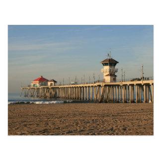 Pilier de Huntington Beach Carte Postale