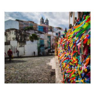 Pilori, Salvador - Brésil Impression Photo
