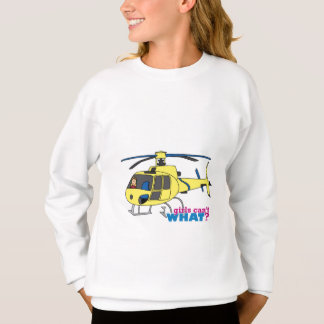 Pilote d'hélicoptère sweatshirt