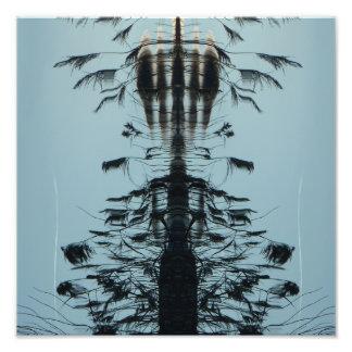 """""""Pilotez librement"""" la copie abstraite Impression Photo"""