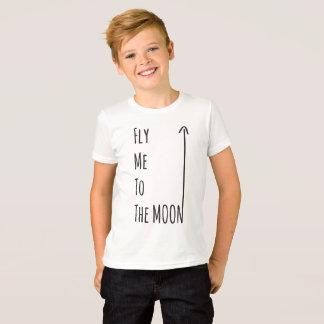 Pilotez-moi à la lune - le T-shirt nerd libre de