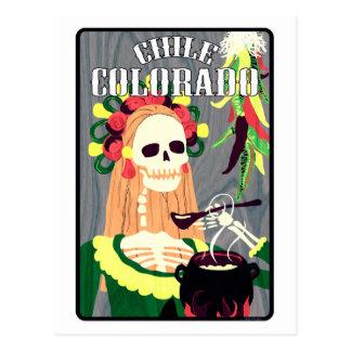 piment le Colorado (plan frais) Carte Postale