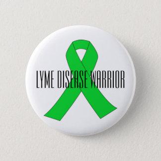 Pin de guerrier de la maladie de Lyme Badge Rond 5 Cm