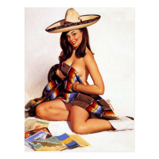 Pin mexicain carte postale