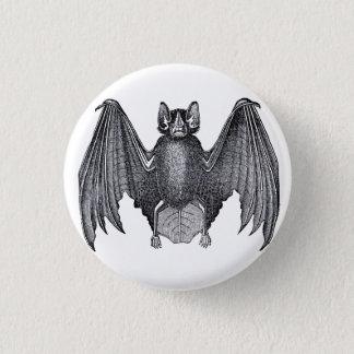 Pin punk gothique de bouton de batte vintage badge rond 2,50 cm