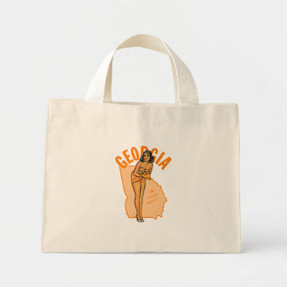 Pin-up de la Géorgie Mini Tote Bag