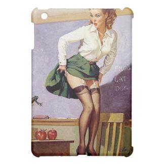 Pin vilain vintage de professeur vers le haut de étuis iPad mini