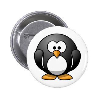 Pingouin Badge Rond 5 Cm