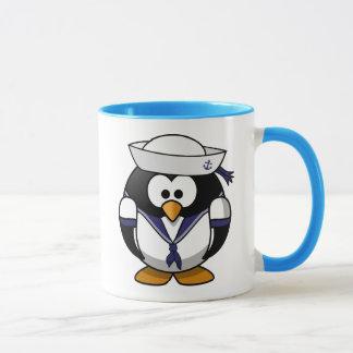 Pingouin de marin mug