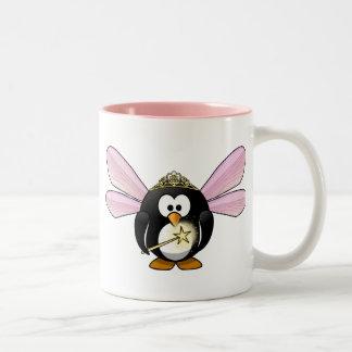 Pingouin féerique tasse 2 couleurs