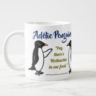 Pingouins d'Adélie 20 onces. tasse par RoseWrites