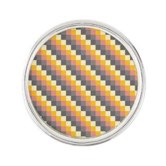 Pin's Motif abstrait de couleur de grille