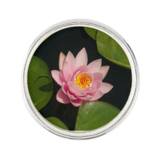 Pin's Nénuphar rose de Lotus
