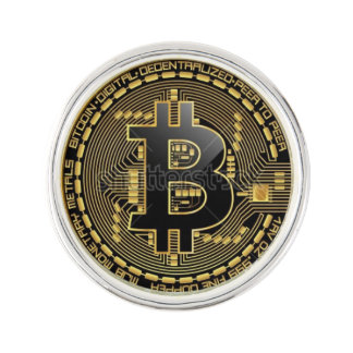 Pin's Pin de revers de Bitcoin